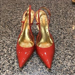 BCBGirls Coral Patent Leather Heels